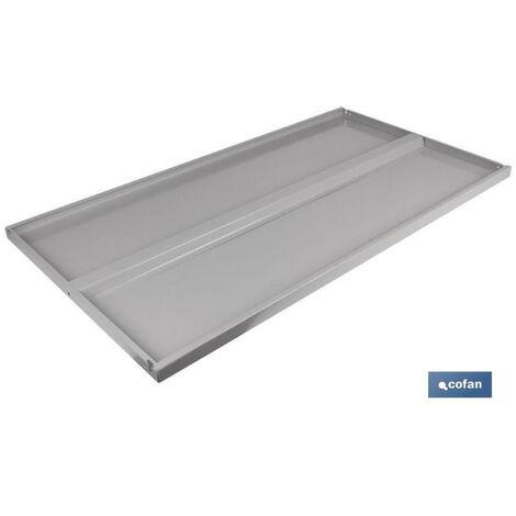 PLIMPO bandeja con refuerzo estanteria 930x500mm caja 4 unid.