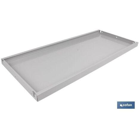 PLIMPO bandeja sin refuerzo estanteria 930x400mm caja 4 unid.