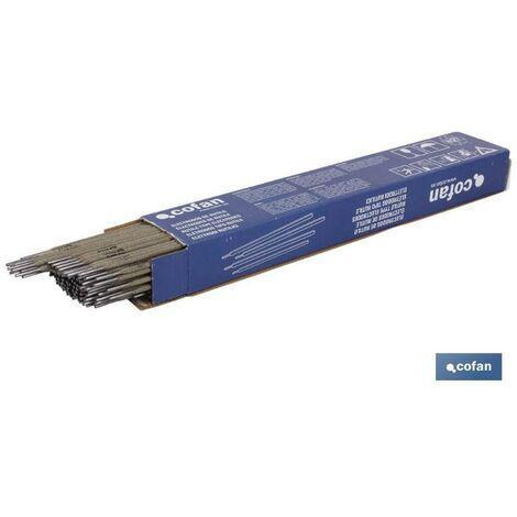 PLIMPO electrodos de rutilo e-6013 ø25 mm 145 uds. venta unitaria