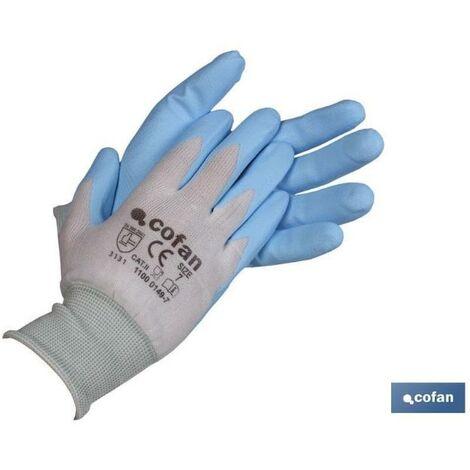 PLIMPO guante impregnado alimentario t-10 caja 12 unid.