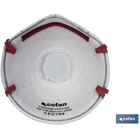 PLIMPO mascarilla protec. c/valvula ce ffp3 nr caja 10 unid.