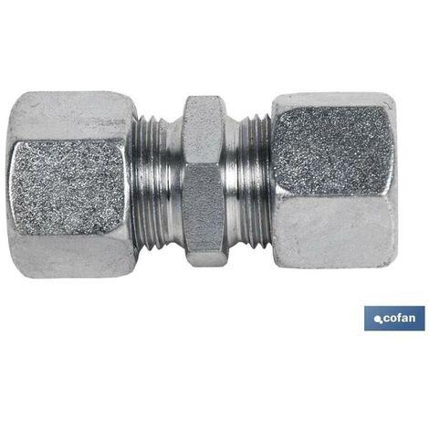 PLIMPO racor recto tubo 6 - rosca 12 x 1,5