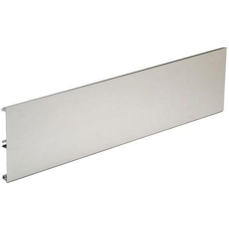 Plinthe aluminium lisse - Hauteur : 100 mm - VOLPATO - Longueur : 4000 mm