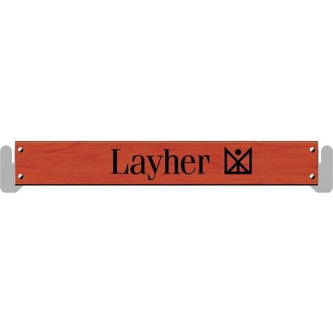 PLINTHE BOIS POUR ECHAFAUDAGE MULTIDIRECTIONNEL LAYHER UNIVERSEL - LAYHER