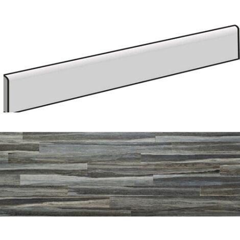 Plinthe effet bois 7,5x90cm MESSINA GRIGIO- 4unités