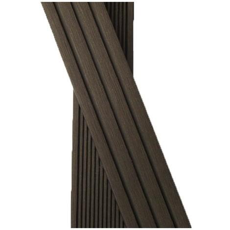 Plinthe finition terrasse bois composite