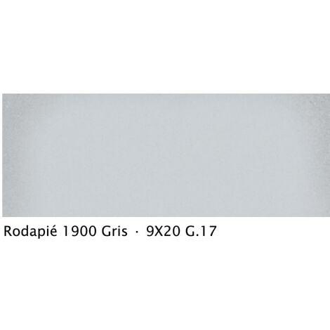 Plinthe intérieur vieillie 1900 9x20 cm GRIS - 2mL