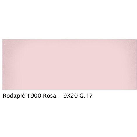Plinthe intérieur vieillie 1900 9x20 cm ROSE - 2mL