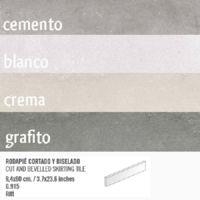 Plinthe interieur vieillie RIFT 9.4x60 cm - 10.20mL