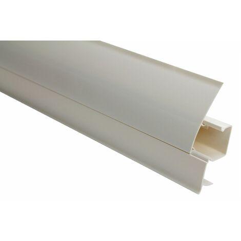 Plinthe   Moderne   Moderne   PVC   Goulotte   23x65mm   0101