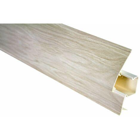 Plinthe | Moderne | Moderne | PVC | Goulotte | 23x65mm | 0103