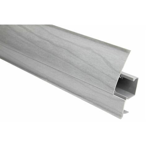 Plinthe | Moderne | Moderne | PVC | Goulotte | 23x65mm | 8602