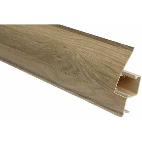 Plinthe   Moderne   Moderne   PVC   Goulotte   23x65mm   8698