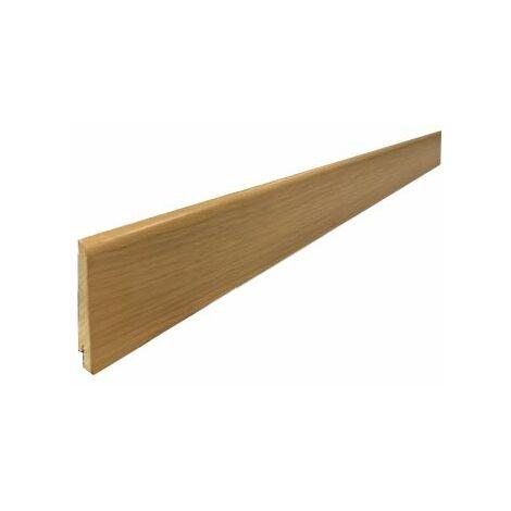 Plinthe Plaquée chêne huilé naturel 15x80x2400mm