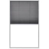 Plisse Insektenschutzfenster 160×110 cm