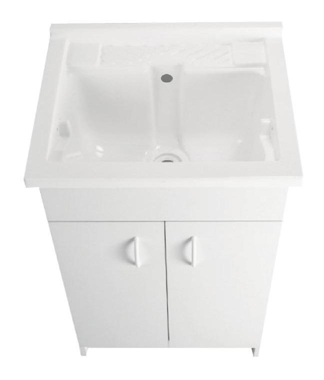plomberie meuble buanderie avec bac laver 200784. Black Bedroom Furniture Sets. Home Design Ideas