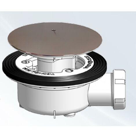 Plomberie Plomberie Valve Siphon Bac � douche Avec Vis 115Mm T-78T Hidrotecnoagua 50238