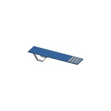 Plongeoir droit ballesta l1.80 x h0.25m bleu ciel