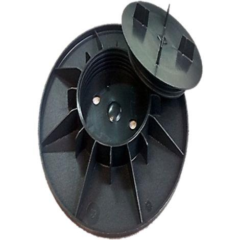Plot à vérin reglable 25 - 40 mm