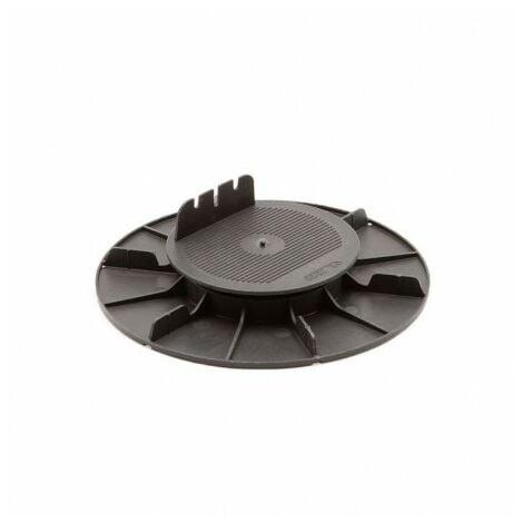 Plot H140/230mm PVC Réglable à Vérin pour Lambourdes Terrasse Bois