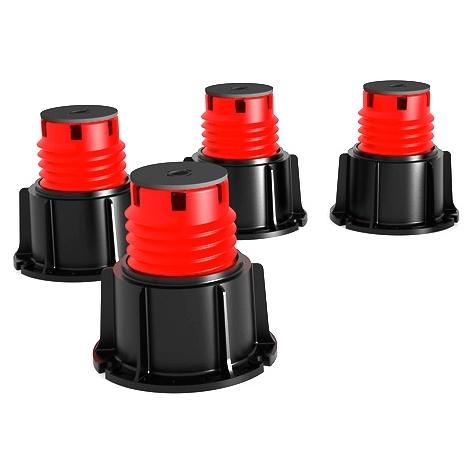Plot Stabilibac - lot de 4 pieds + rallonge pour bac à douche - Lazer 150624