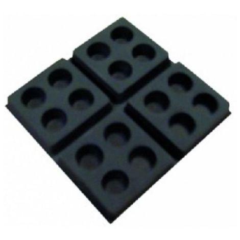 Plots amortisseurs pour caissons de ventilation Unelvent 990001