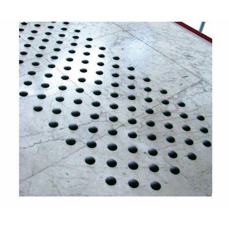 Plots podotactiles adhésifs intérieur Dinaplot Granuo DINAC Anthracite - 3 plaques de 50 plots - 102284D