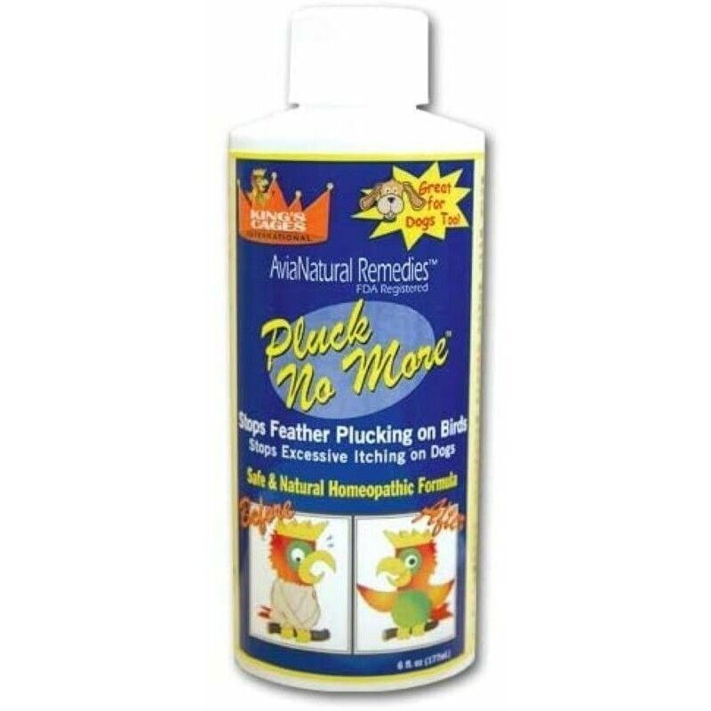 PLUCK NO MORE anti-bite spécial pour psittacides et perroquets bouteille 177 ml