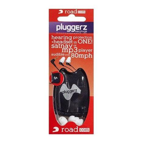 Pluggerz écouteur audio sécurisé ROADCOM - Rouge