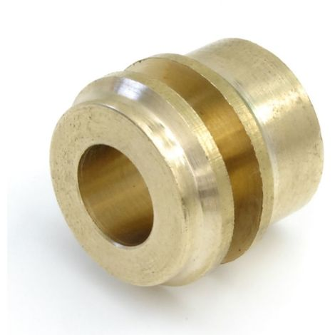 Plumbers Choice 15mm x 8mm Micro-bore Reducer Single Polished Brass