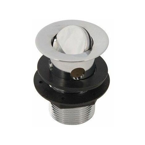 "Plumbob 304774 Rotating Brass Basin Waste Slotted 1-1/4"" (32mm)"