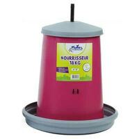 Plume plastic feeder for hens and company 18Kg