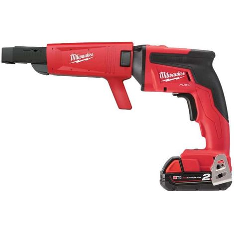 Plunger screwdriver MILWAUKEE FUEL M18 FSGC-202X - 2 battery 18V 2.0Ah - 1 quick charger M12-18FC 4933459199