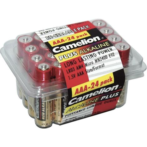 Plus Alkaline Batterien - 24er Sparpacks