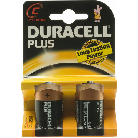 Plus Power Alkaline Batteries