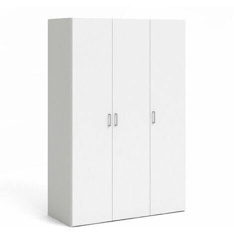 Pluto Wardrobe 3 Doors White