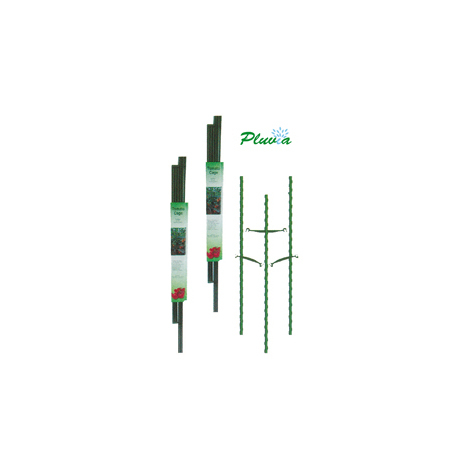 PLUVIA TUTOR ACERO PLASTIFICADO 16 MM x1,80 METROS VERDE=140845