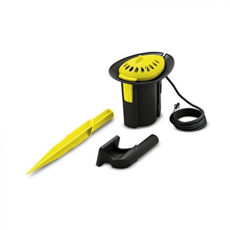 Pluviomètre noir et jaune Karcher 2.645-037.0