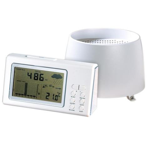 Pluviomètre thermomètre électronique Stil - Sans fil