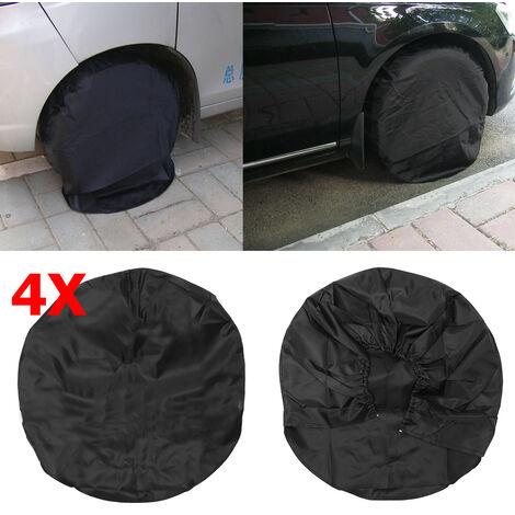 """Pneu de roue de 4X RV couvre la remorque de camping-car de voiture de camion automatique 28 """"de diamètre"""