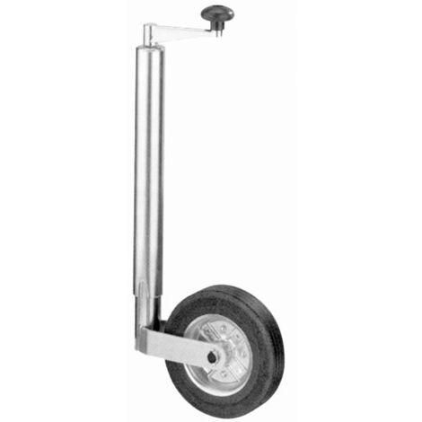 Pneu en caoutchouc roue jockey pour remorque 200mm