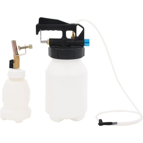 Pneumatic Brake Bleeder Extractor Pump with Filler Bottle 3.5 L