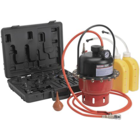 Pneumatic Brake & Clutch Pressure Bleeder Kit