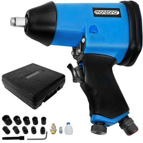 """Pneumatic Impact Wrench 1/2"""" Torque Powerful Hand Tool"""