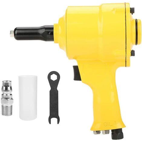 pneumatic riveter, riveter KP-705P pneumatic gun pneumatic riveting tool 2.4-4.8mm (# 3)