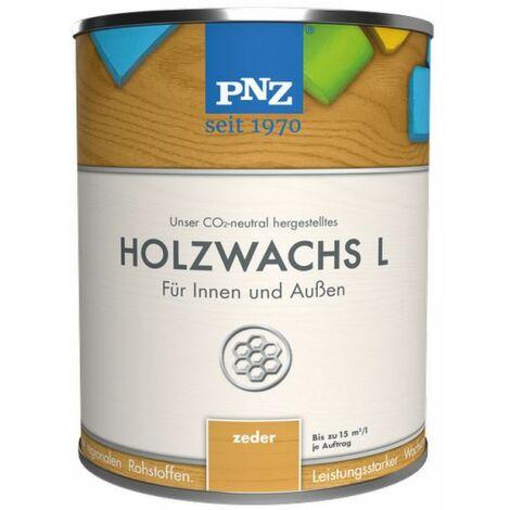 PNZ Holzwachs L (nussbaum) 2,50 l - 76122