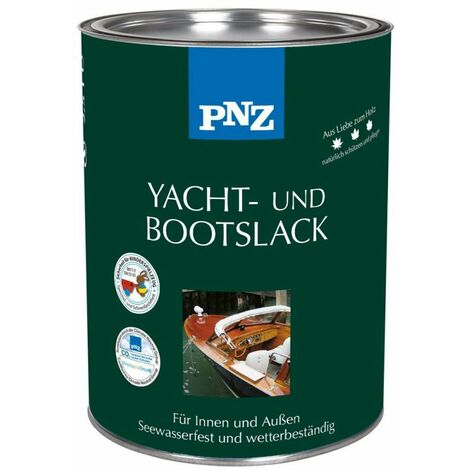PNZ Yacht- und Bootslack (farblos) 0,75 l - 10455