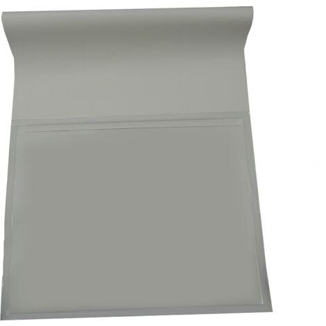 Pochette de chantier 45cm - Avec rabat arrière Blanc 36.5 x 45cm SANS LE SENS INTERDIT - Blanc