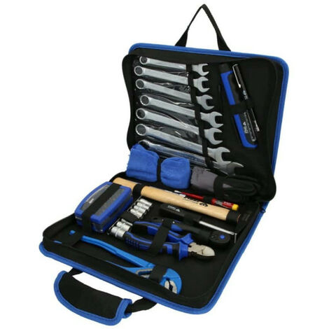 Pochette d'outils en tissu BRILLIANT TOOLS - 64 pcs - BT024064