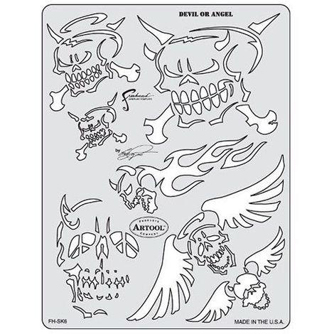 "main image of ""Pochoir Artool Devil Angel"""